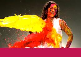 Vanish Holi Woman