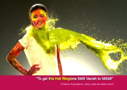 Vanish Holi Girl